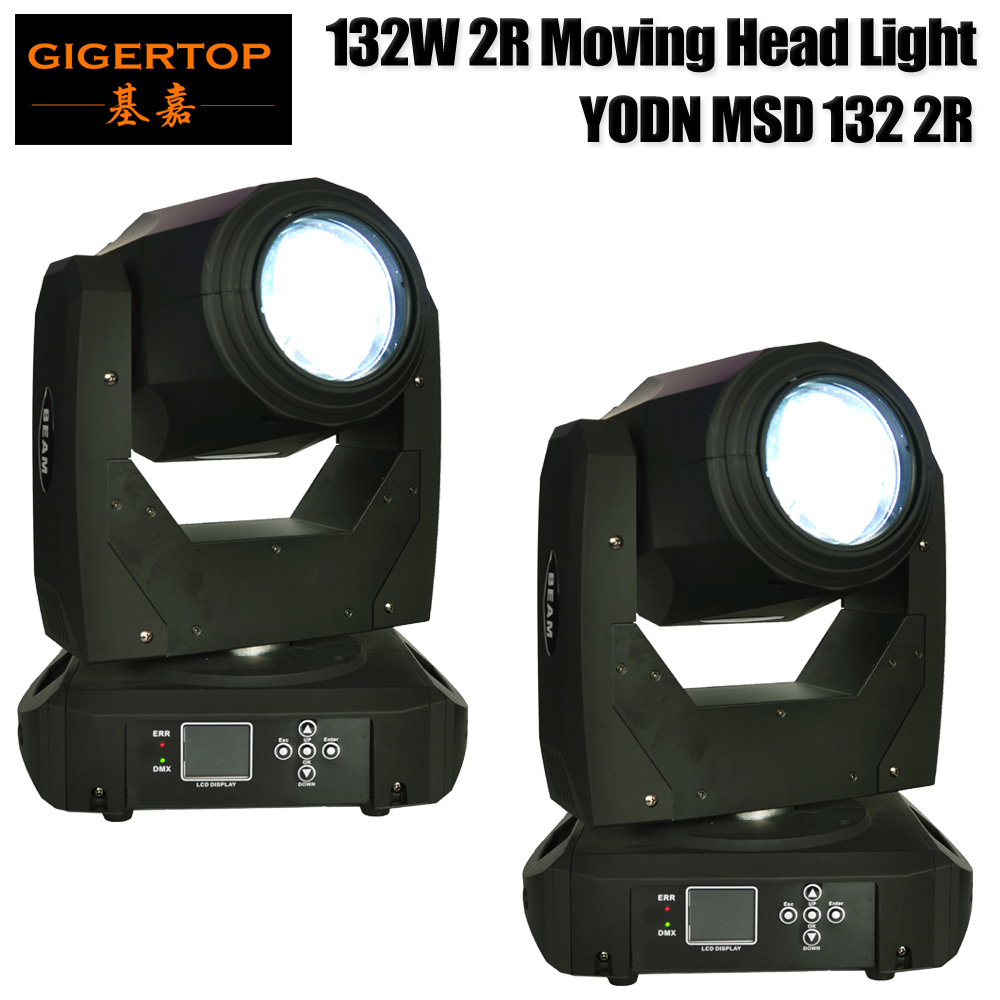 Freeshipping 2 Units YODN 2R Moving Head Light Sharpy Beam Color Wheel open+14/Gobo Wheel open+15 Pattern for Disco KTV Club Par 2r sharpy beam 2r compact moving head stage lights 132w 2r brand lamp mini sharpy moving head light 90v 240v free shipping