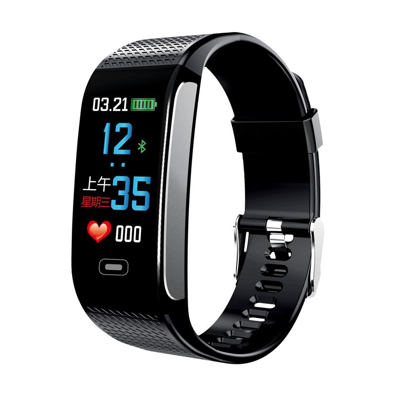 2018 Fashion Smart Sport Watch CK18S Intelligent Tracker Bracelet Heart Rate Blood Pressure Health Monitoring Luxury Brand Watch