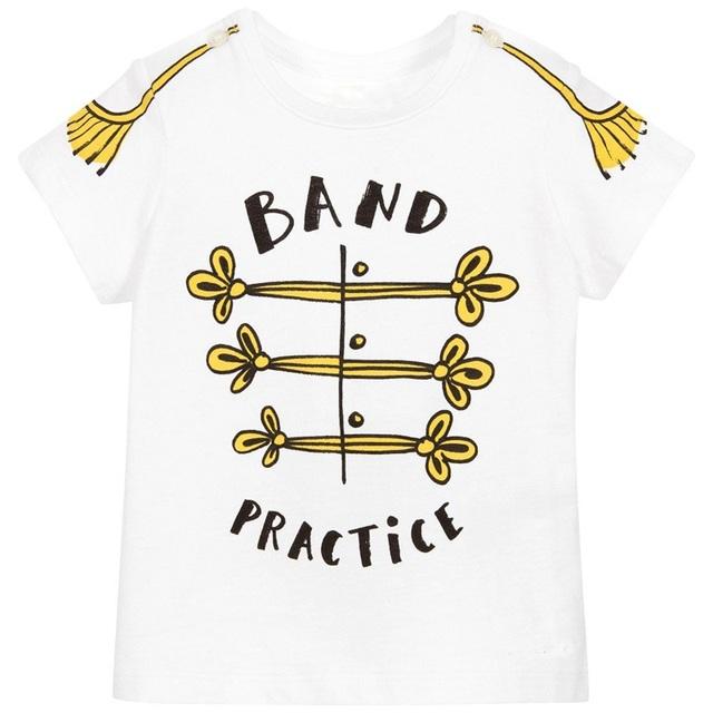 Boys' Cotton T-Shirt with O-Neck