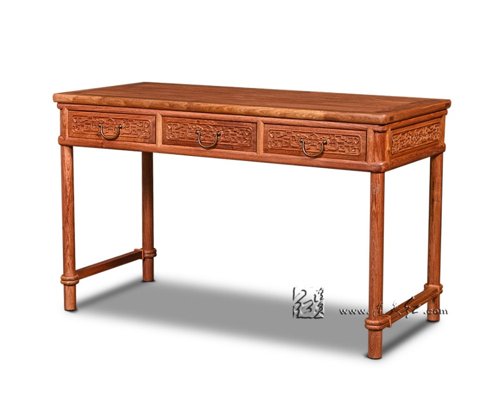 popular solid wood writing deskbuy cheap solid wood writing desk  - simplicity home office furniture rosewood table classical antique computerbook desks solid wood retangle writing tables