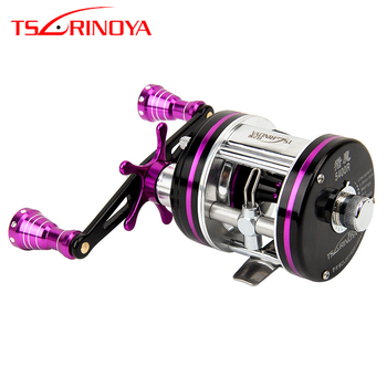 Tsurinoya Max Drag 7kg 6+1BB 5.3:1 Full Metal Drum Reels Right Hand Left Hand Bait Casting Fishing Reels China Reel