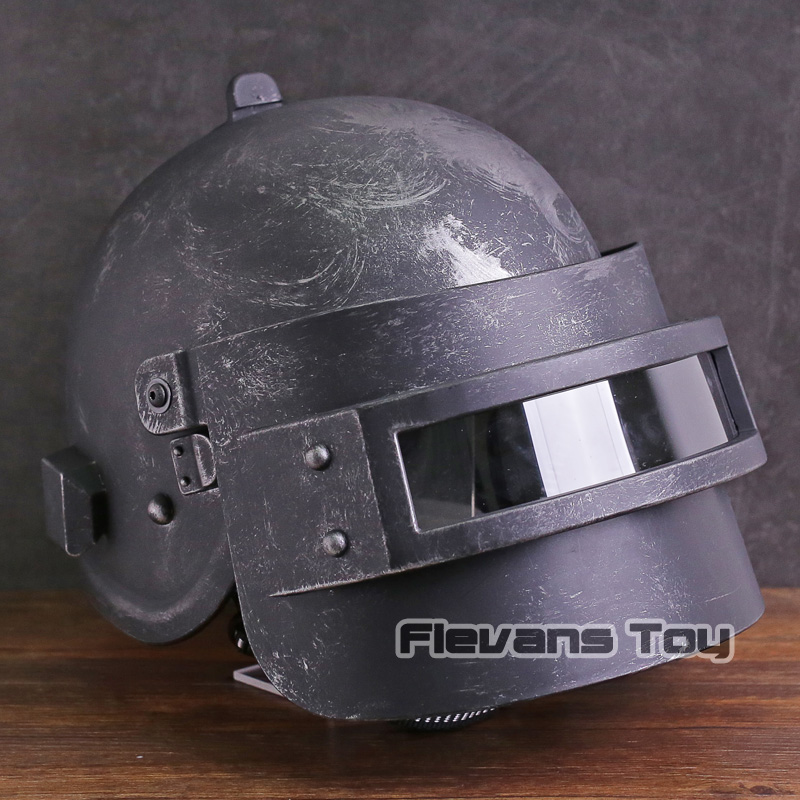 купить PUBG Playerunknown's BattleGrounds Cosplay Helmet for Adult PVC Figure Model Toy недорого