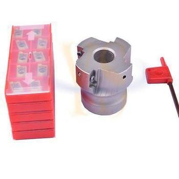 New 50mm BAP400R 50-22-4T Face mill cutter and 50pcs APMT1604 DP5320 carbide inserts  CNC milling