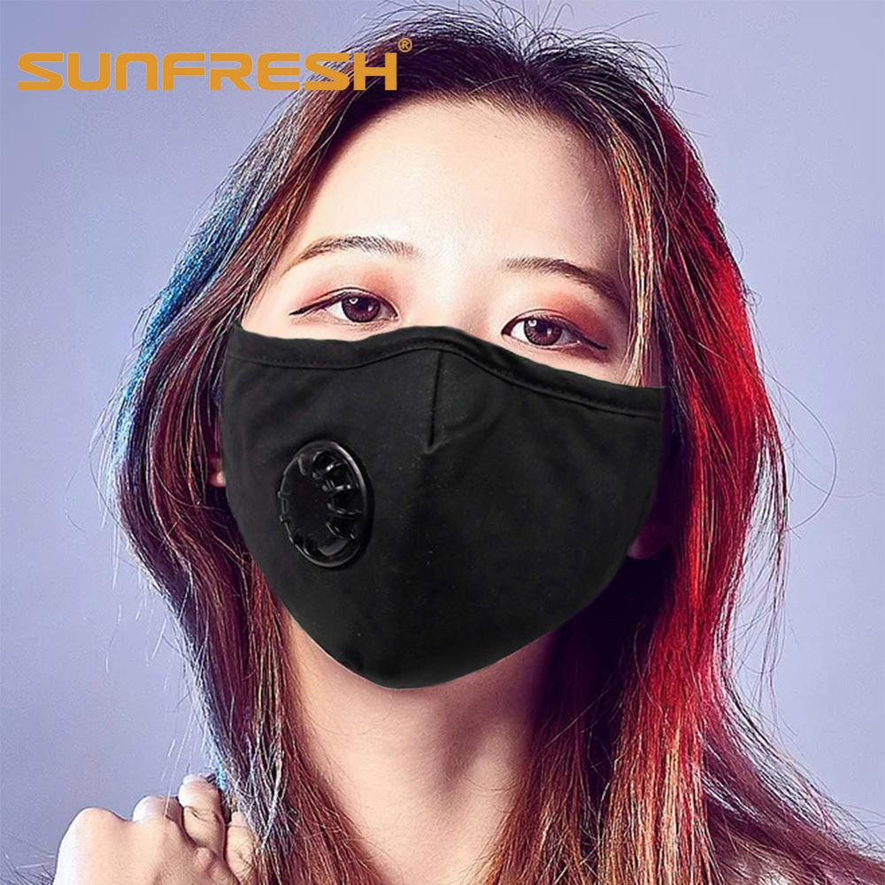 Anti Pollution Mask Dust Respirator Washable Reusable Masks Men Women Anti Dust Mask Anti PM2.5 Pollution Face Mouth Maske