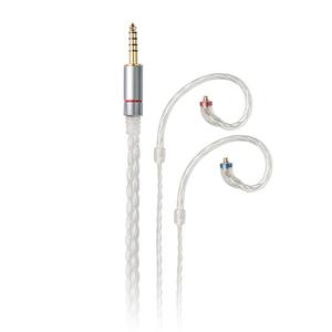 Image 2 - FiiO LC 2.5C/3.5C/4.4C Hand Woven MMCX Balanced earphone replacement cable for Shure/Westone/JVC/FiiO
