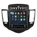 """10.4 """"Вертикальный Огромный Экран Android 4.4.4 Автомобиля DVD GPS Плеер для Chevrolet Cruze 2008-2012 1024*600 Quad Core Радионавигации"""