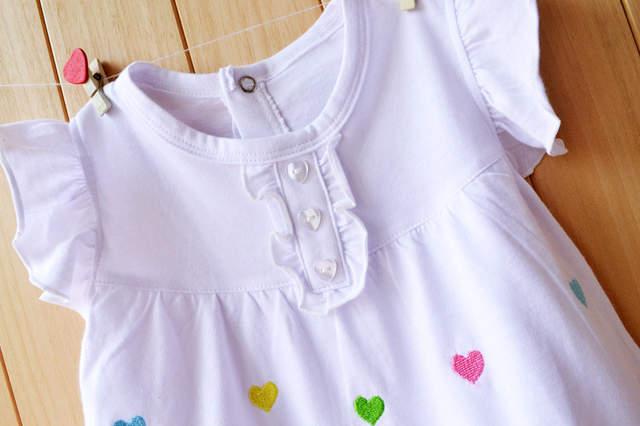 2305507f438 Newborn Baby Girl Dresses Cotton Baby Girls Clothing Roupas Bebe 2018  Toddler Kids Costume Summer Floral