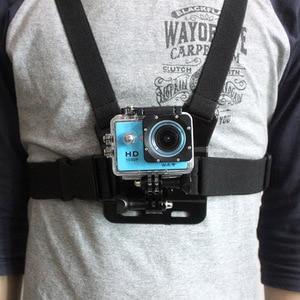 Image 5 - Shoulder Chest Belt Strap Mount For Go pro Accessories SJ4000 Accessories Go pro Hero HD Hero 1 2 3 3+ 4 Outdoor Action Camera