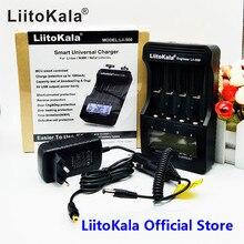 Умное устройство для зарядки никель-металлогидридных аккумуляторов от компании LiitoKala lii-500 ЖК-дисплей 3,7 V 1,2 V 18650 26650 16340 14500 10440 18500 20700B 21700 Батарея Зарядное устройство с сенсорным экраном