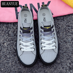 Solid Gray White Black Canvas Shoes New 2018 Spring Fashion Women Casual Shoes Women's Sneakers Vulcanize Footwear Espadrilles
