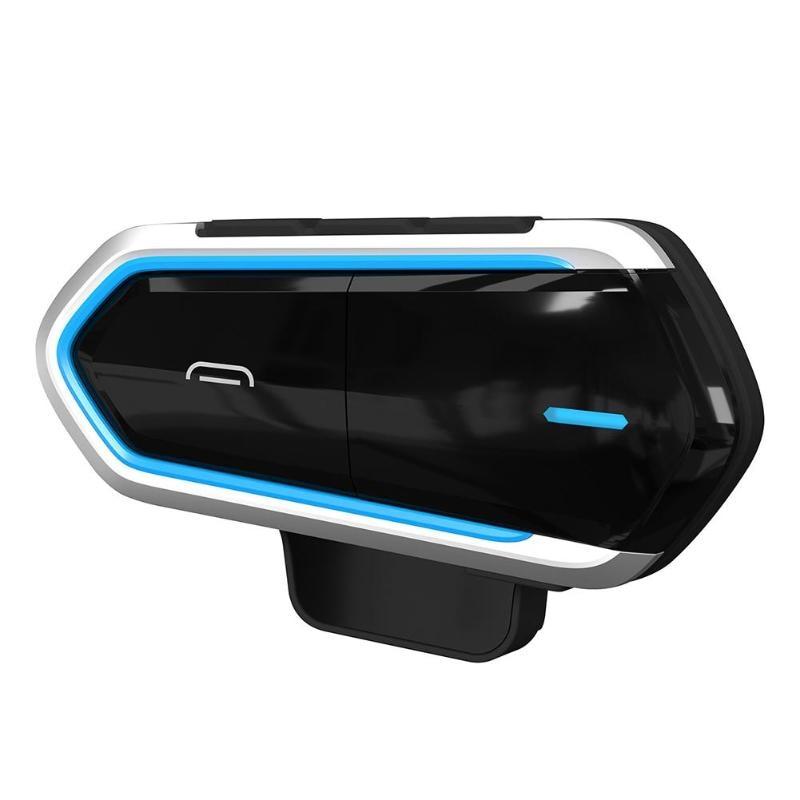 Waterproof Motorcycle Helmet Headset Wireless Long Standby Earphone 450mAh Wireless Bluetooth Intercom BT Interphone Headset