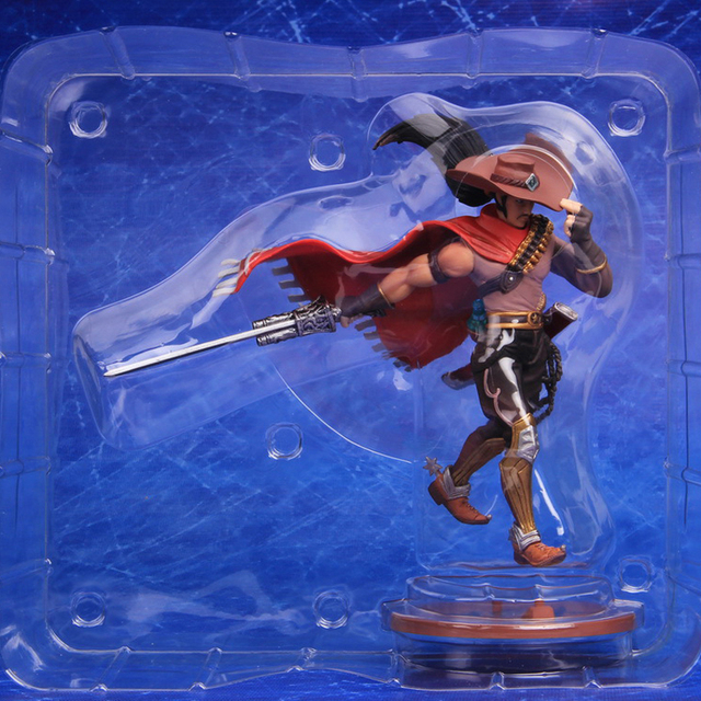 LOL League of Legends figure Action Game yasuo Cowboy Model Toy action-figure 3D Game Heros anime party decor boy Creative Gift 1