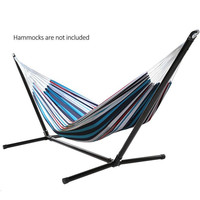 Homdox New Unisex Adult Space Saving Outdoor Portable Steel Hammock Stand Set N20A