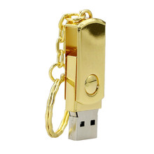 Silver gold Real Capacity Stainless Steel USB Flash Drive 128GB 256GB 512GB Pen Drive Memory Flash Card Memory Disk USB Stick