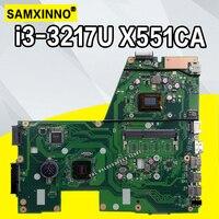 X551CA motherboard for laptop ASUS X551CA X551CAP X551C X551 F551C F551CA Tests Original motherboard I3 Processor 1xslot