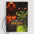 World of Warcraft patrón Pasaporte Billete Bolsa de titular de la tarjeta Protector Organizador, wow cubierta pasaporte de Viajes