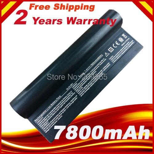 Ordinateur portable Batterie AL23-901 AP23-901 AP22-1000 Pour Asus Eee PC 1000 1000 H 1000HA 1000HD 1000HE 1000HG 901 904HD