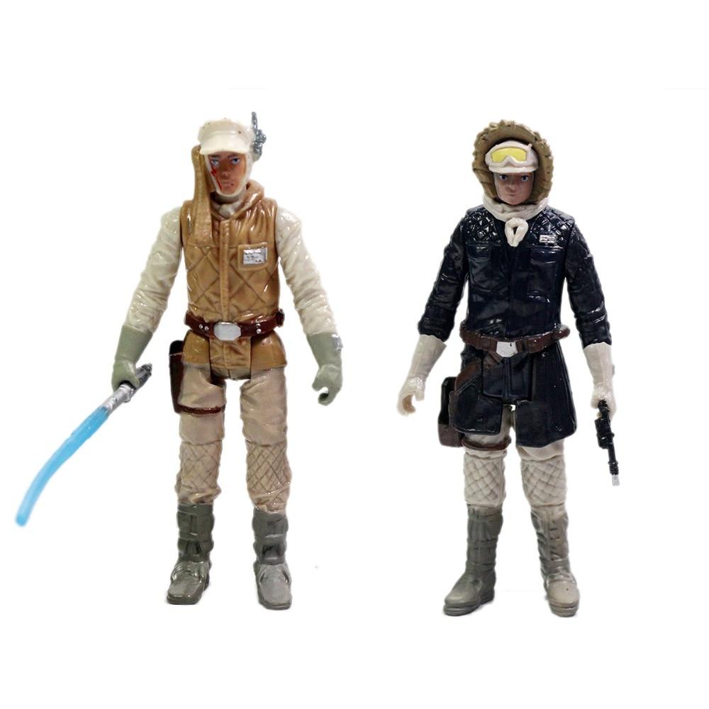 Movie Rebels Episode Luke Skywalker & Han Solo Action Figure Free Shipping