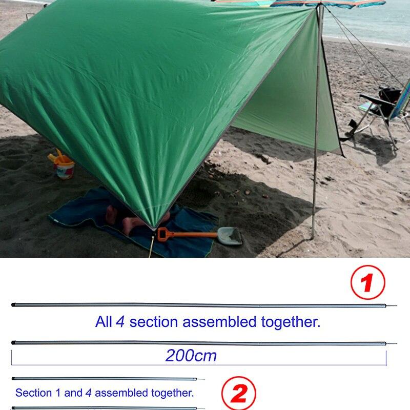 2m 1.5 1m acampamento ao ar livre