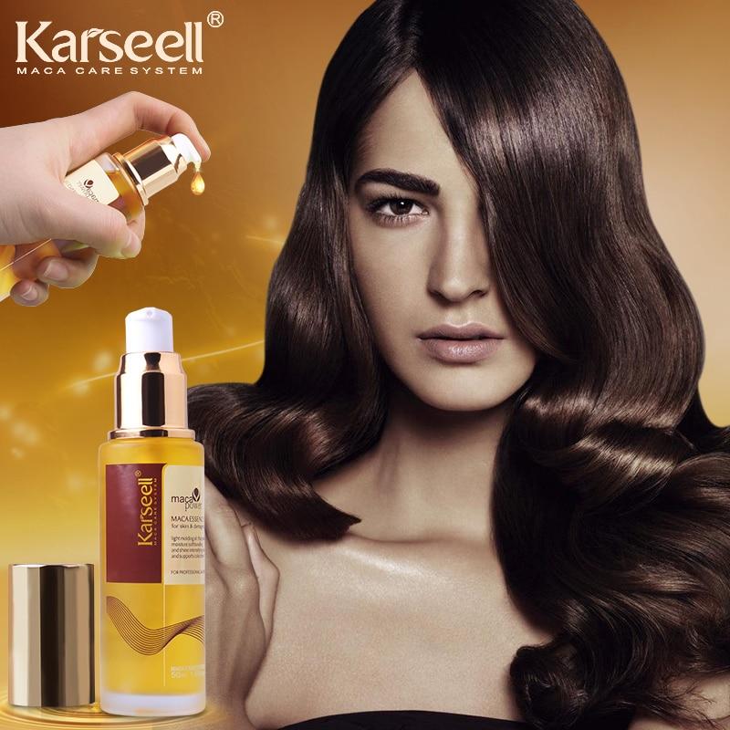 Marocko argan oljebarn ren hårbotten Frizzy Torrt hår keratin - Hårvård och styling - Foto 4