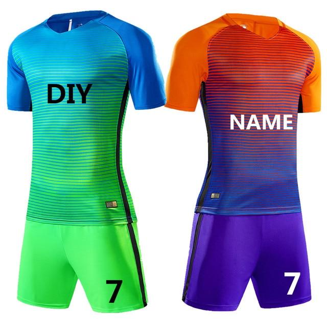 2018 Juego de camisetas de fútbol profesionales para niños fa5c9ee51f5e4