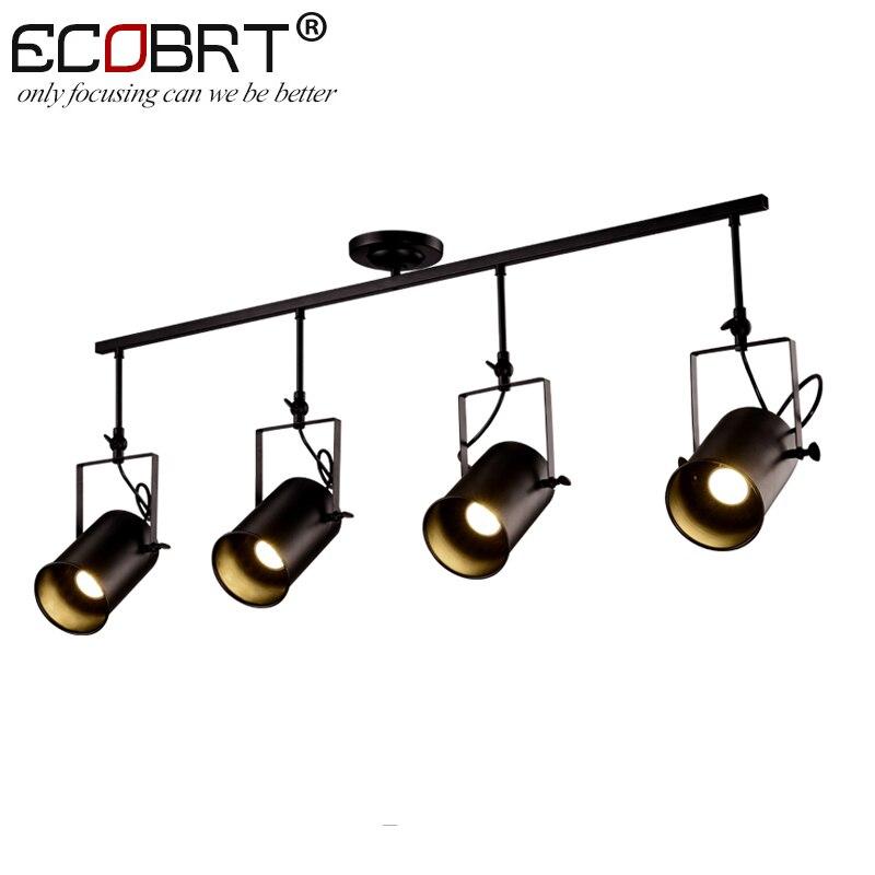 NEW Vintage Loft Ceiling Light Creative Iron Metal Hanging Lamp Fixture American Retro Decorative Ceiling Lights 1/2/3/4 Lights