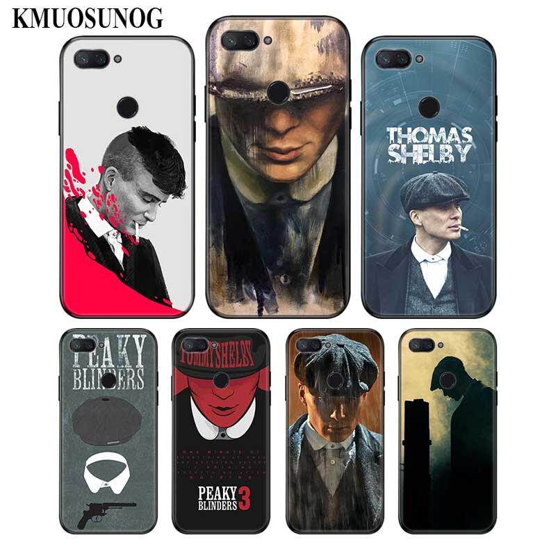 For Xiaomi 6 8 A1 A2 Redmi Note S2 4 4X 5 5A 6 6A Pro Lite Black Silicon Phone Case Cool Peaky Blinders Style in Fitted Cases from Cellphones Telecommunications