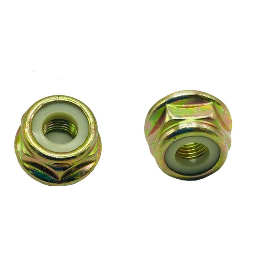 1PC Garden Lawn Mower Gear Head Cover Nut Reverse Thread Blade Gasoline Screw Brush Cutter Strimmer Trimmer Parts M10 Nuts