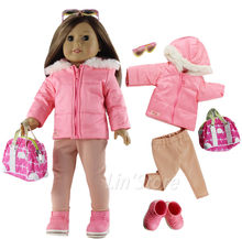ccd6b9512 Roupas de Boneca da moda Brinquedo Conjunto Roupa Roupas para 18