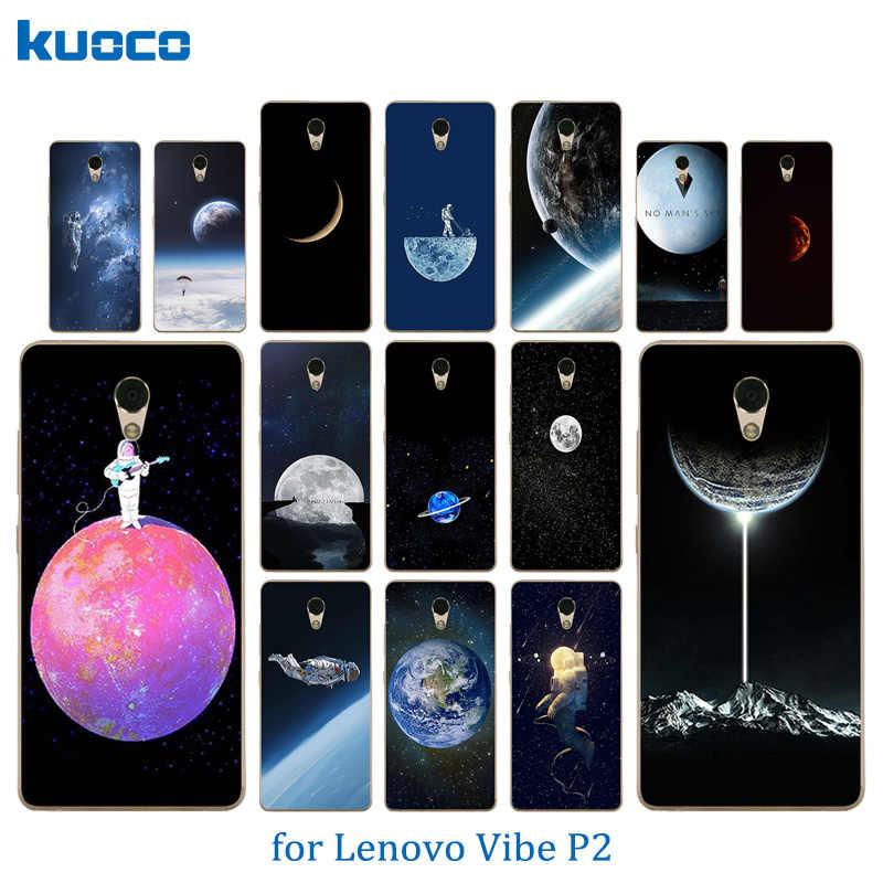 Для Lenovo Vibe P2 P2a42 Оболочка ТПУ Мягкая задняя крышка космический мир шаблон для Lenovo Vibe P2/P2 P2c72 силиконовые защитные чехлы для телефонов