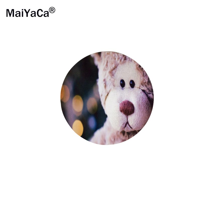 MaiYaCa Doggy On Wallpaper Round 200*200*2mm Mouse Pad Mousepad Computer PC Laptop Comfort Gaming Mouse Pad