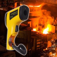 Precise Laser Targeting LCD Display IR Infrared Thermometer 50 To 550 Degree Celsius Temperature Meter Sensor