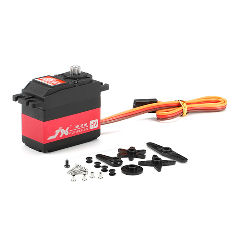 Hot New JX Servo PDI-HV5932MG 30KG Large Torque 180 High Voltage Digital Servo For RC Parts jx servo pdi 6115 mg kg 15 large torque torque metal gear steering gear digital hollow cup standards