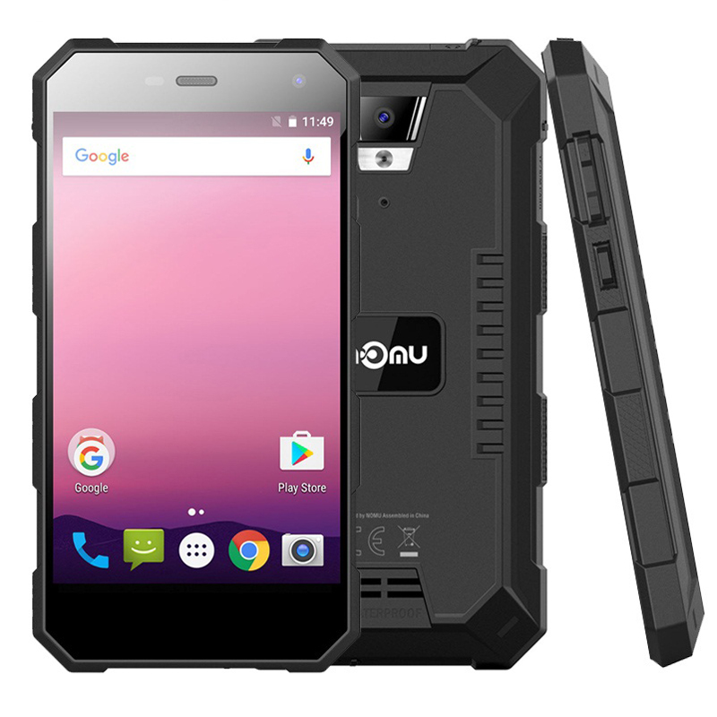 Outdoor Shockproof IP68+ Waterproof Android 7.0 5000mAh MTK6737T Quad Core 5.0
