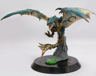 Toys For Boys To Color : Blue color dragons hunter model hand done collection action figures