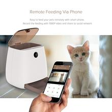 3L Automatic Pet Feeder Wi-Fi Smart Feeder Dry Food Container for Dogs Cats,with APP Controlled by Smart Phone multi color intelligent household security robert controlled by smart phone