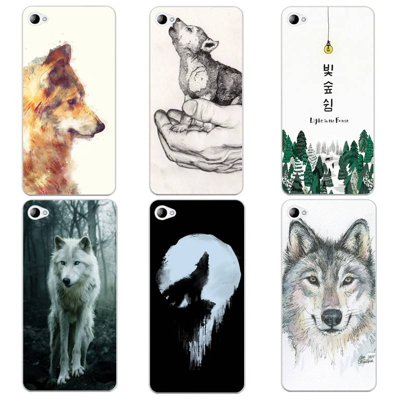 Tree Soft Clear TPU Phone Case For <font><b>Lenovo</b></font> <font><b>S60</b></font> S90 A2010 A1000 A5000 A7000 K4 K5note Wolf Horse Coque Fundas Cover Free Shipping image