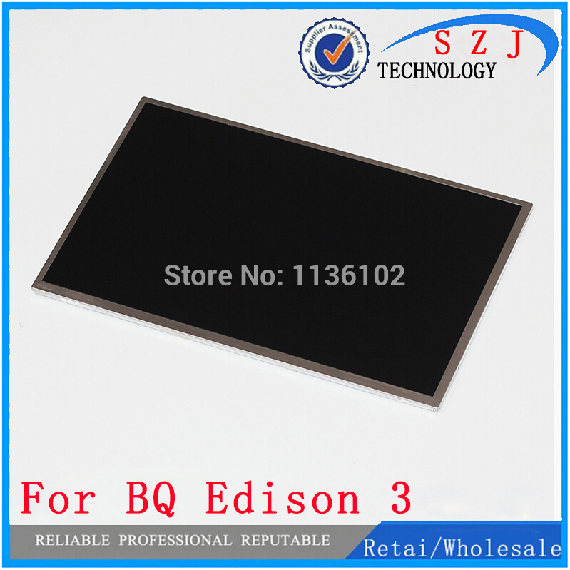 купить New 10.1'' inch IPS LCD Screen BQ Edison 3 for DNS M101G Tablet PC lcd display Free shipping по цене 1625.16 рублей