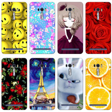 for Asus ZenFone 2 Laser ZE500KL 5.0inch Case Fashion Printed Soft Tpu Case For Asus Zenfone 2 Laser ZE500KL ZE500KG Case(China)