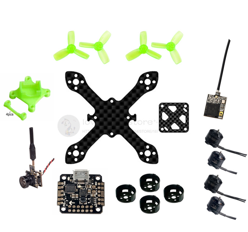 DIY FPV brushless indoor mini drone frame kit 70mm pure carbon quadcopter frame unassembled 16mm x 16mm eyas 55 7mm 8mm pure carbon fiber brush coreless quadcopter frame for diy fpv micro indoor mini drone with camera