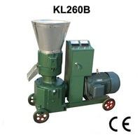 15KW KL260B Pellet Machine Animal Feed Wood Pellet Mill Machine Pellet Press With Motor