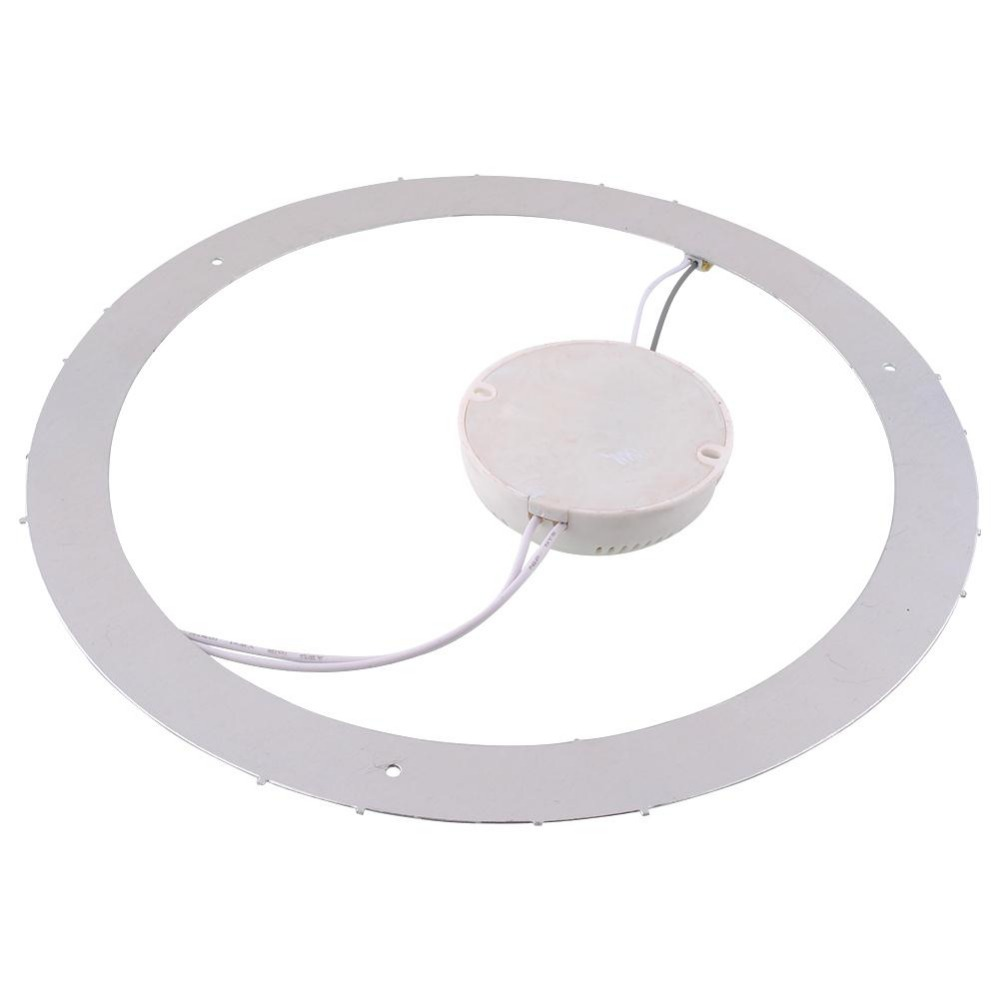 18w 36 Led Saving Panel Circle Annular Practical Ceiling Light Lamp Pure White Ceiling Lights & Fans
