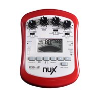 NUX PG 2 Portable Electric Guitar Multi Effects Processor with Tuner Metronome Noise Gate