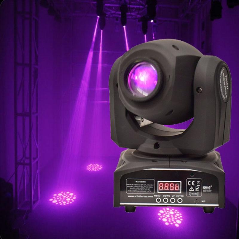 30W Gobo Spot Moving Head Light LED Moving Head Spot Stage Lighting Disco Light Professional Stage & DJ DMX Stage Light