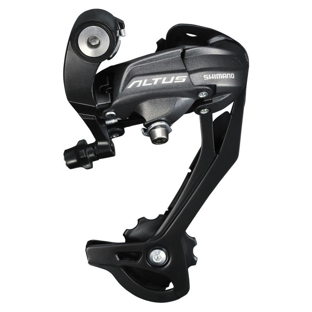 Shimano Altus M370 9 Speed Bike Bicycle Rear Derailleur long cage SGS MTB Mountain Bike Bicycle Rear Derailleur Free Shipping