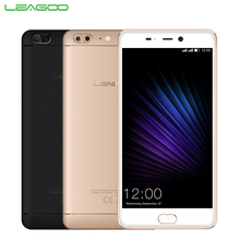 Original Leagoo T5 Cell Phone 5.5 inch FHD Screen 4GB RAM 64GB ROM MTK6750T Octa Android 7.0 Dual Camera Fingerprint Smartphone