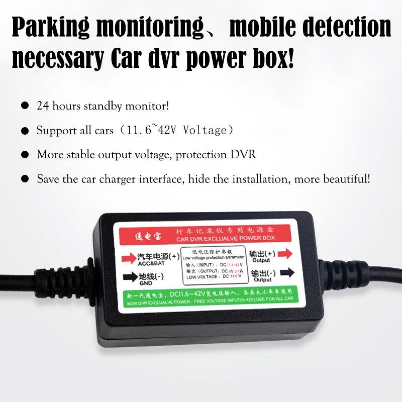 JUEFAN haute qualité voiture dvr caméra Novatek 96655 dash cam full hd 1080 p auto caméra 3.0 pouces Parking surveillance dashcam - 5