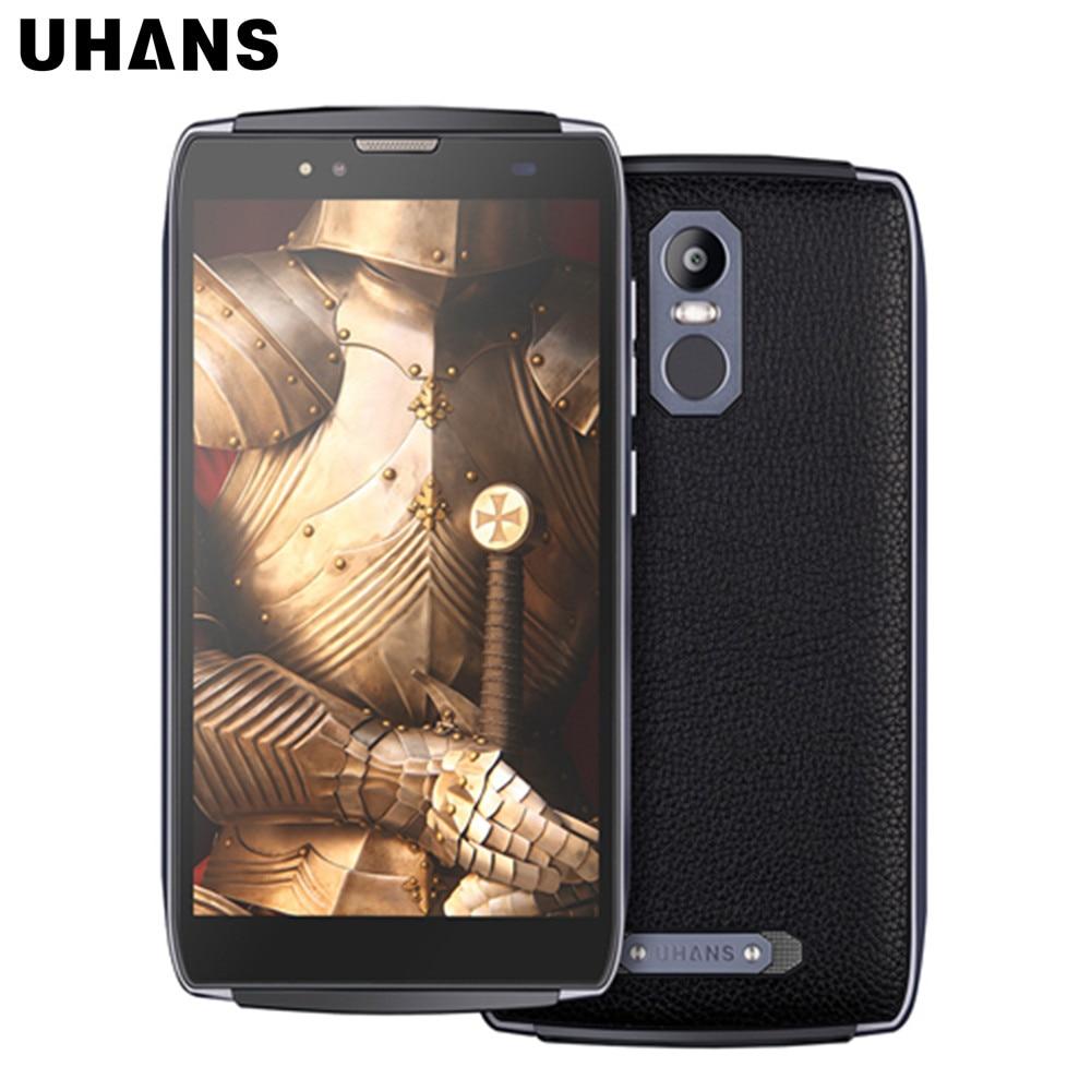 UHANS U300 5.5 inch FHD 4G Android 6.0 MT6750T Octa Core 4GB+32GB 13.0MP&5.0MP Dual Camera 4750mAh Battery Rugged Smartphone