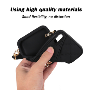 Image 3 - Crossbody Wallet Phone Case For iPhone 12 11 Pro Max 10 X 7 8 6 6s Plus SE 2020 XR XS Max Handbag Purse Soft Silicone Back Case
