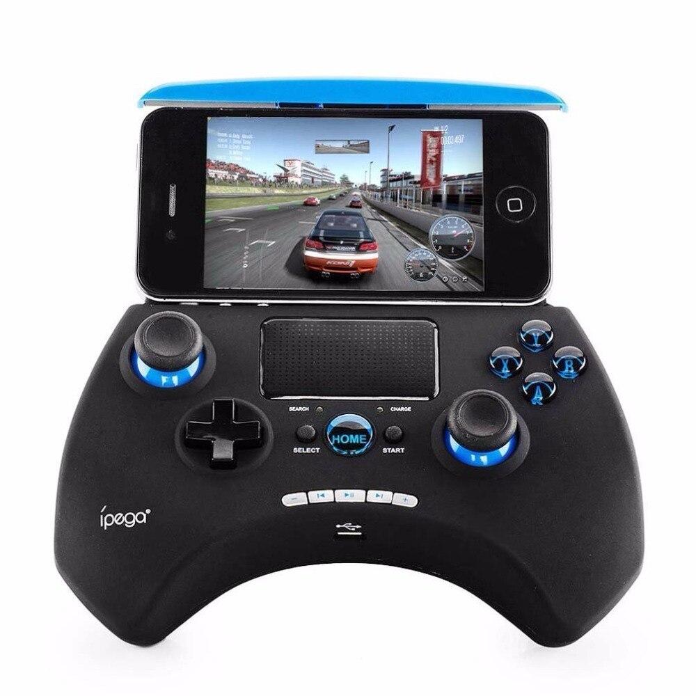 Ipega PG-9028 Bluetooth sans fil contrôleur de jeu manette manette support extensible Touchpad pour Android iOS PC tablette